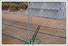 Woven Wire Fence Barrier